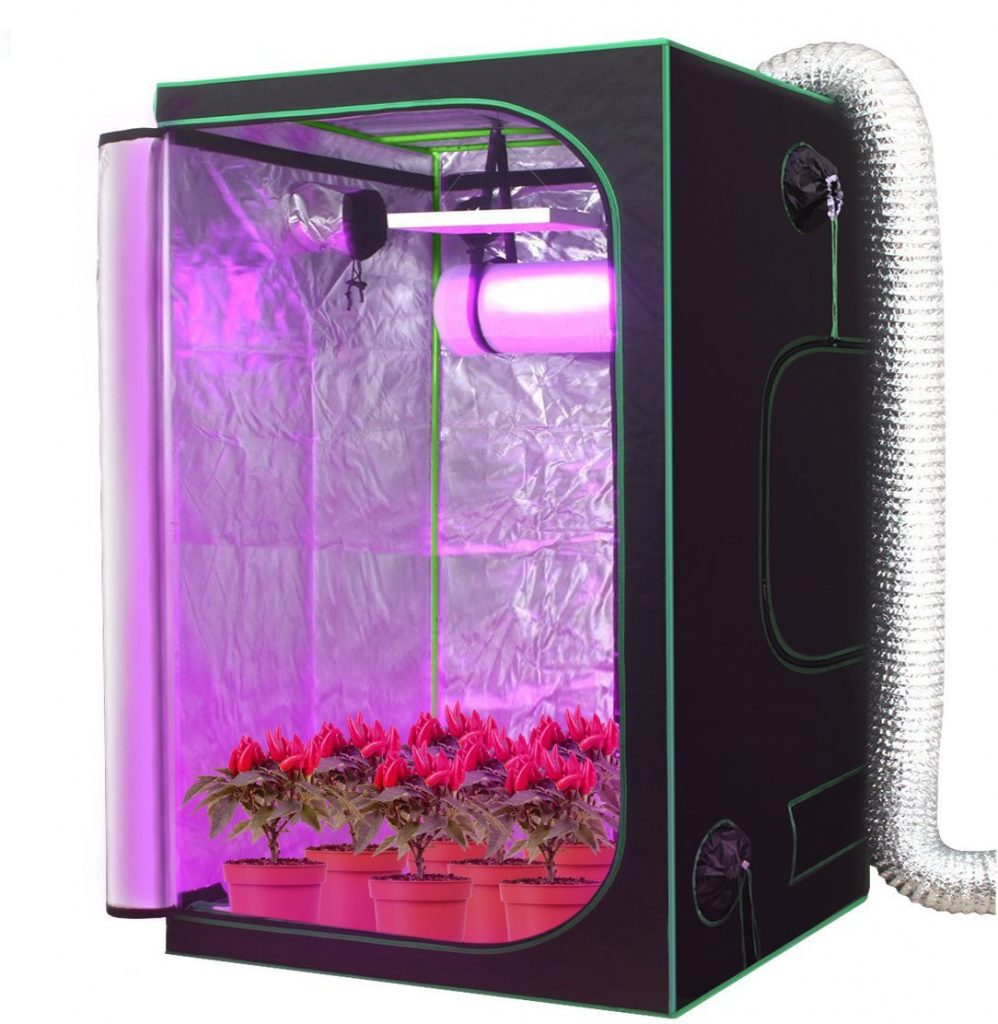 AMAGABELI GARDEN & HOME HW0005 Mylar Hydroponic Grow Tent for, Indoor Plant Growing1