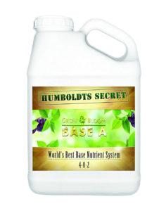 Humboldts Secret Base A & B Bundle Liquid Nutrient Fertilizer for The Vegetative & Flowering Stages of Plants