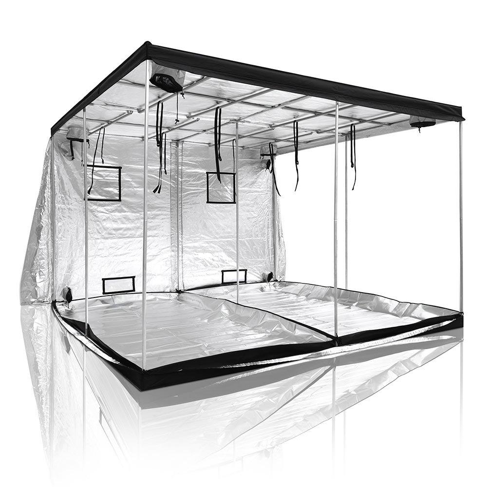 LAGarden 120x120x78 XL 100% Reflective Mylar Hydroponics Indoor Grow Tent