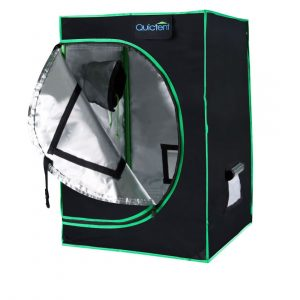Quictent SGS Approved Eco Friendly 24x24x36 Reflective Mylar Hydroponic Grow Tent