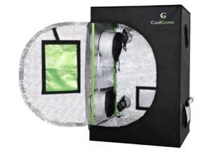 CoolGrows 2x2x3 Feet Mylar Hydroponic Grow Tent