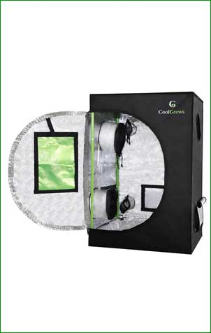 CoolGrows Hydroponic Grow Tent