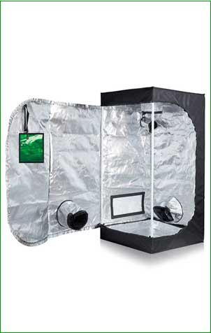 Oppolite METAL Corners Grow Tent
