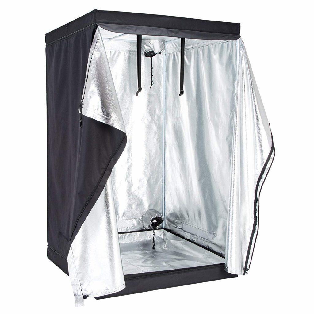 SUNCOO 2x2x4 Feet Indoor Hydroponic Grow Tent