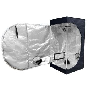 TopoLite 16x16x48 Inches 600D Grow Tent Room Reflective Mylar