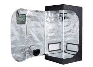 TopoLite 24x24x48 Inches Hydroponic Grow Tent