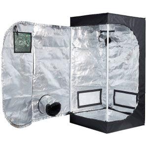 TopoLite 24x24x48 Inches Indoor Grow Tent Hydroponic Growing Dark Room