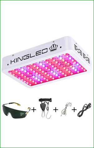 King Plus 1000w LED Grow Light