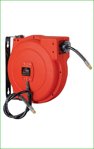 ReelWorks L705102A Air Compressor Water Hose Reel