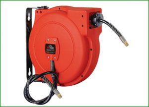 ReelWorks L705102A Air Compressor Water Hose Reel