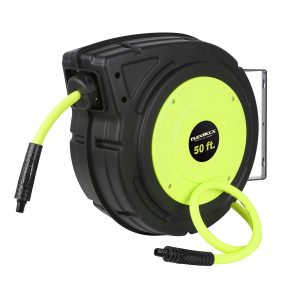 Flexzilla Enclosed Plastic Air Hose Reel