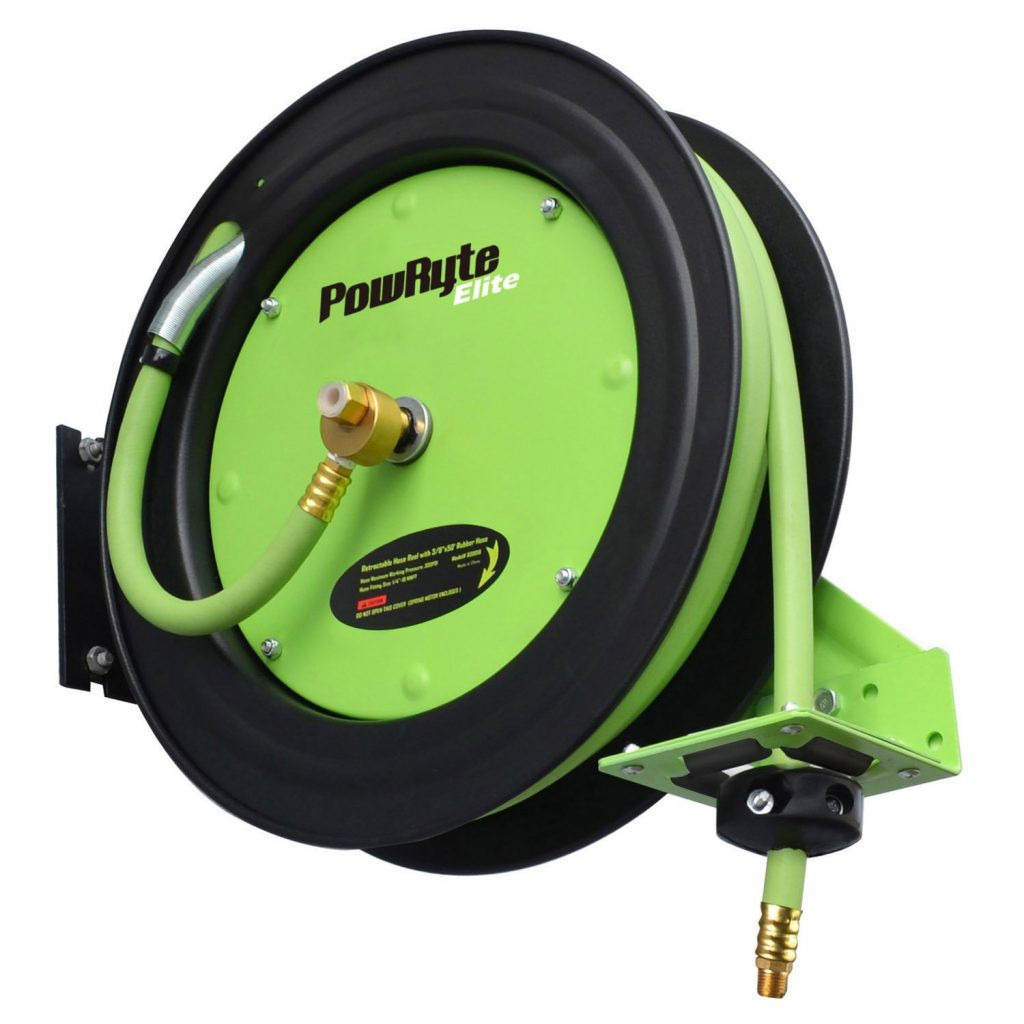 PowRyte Elite Retractable Air Hose Reel