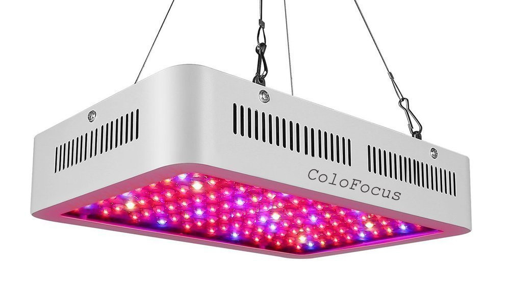 ColoFocus 1000W Double Chips Indoor LED Plant Grow Light Kit