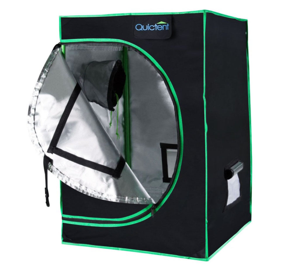 Reflective-Mylar-Hydroponic-Grow-Tent-with-Obeservation-Window-and-Waterproof-Floor-Tray