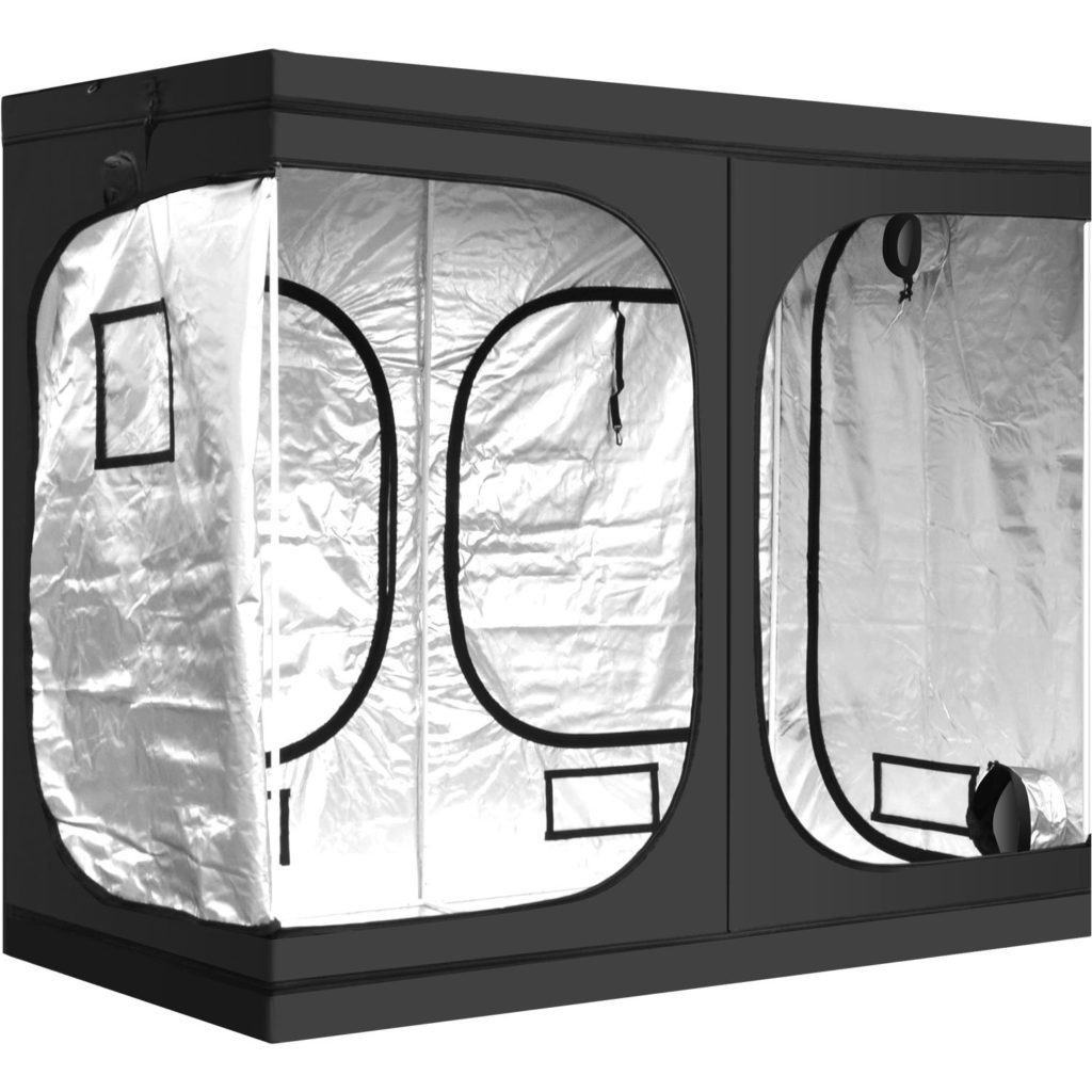 Hydroponic-Water-Resistant-Grow-Tent-with-Removable-Floor-Tray-for-Indoor-Seedling-Plant