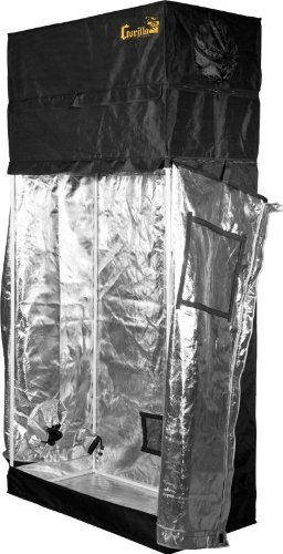 Gorilla Grow Tent GGG24 GGT24 Grow Tent, 2 by 4 by 6-Feet