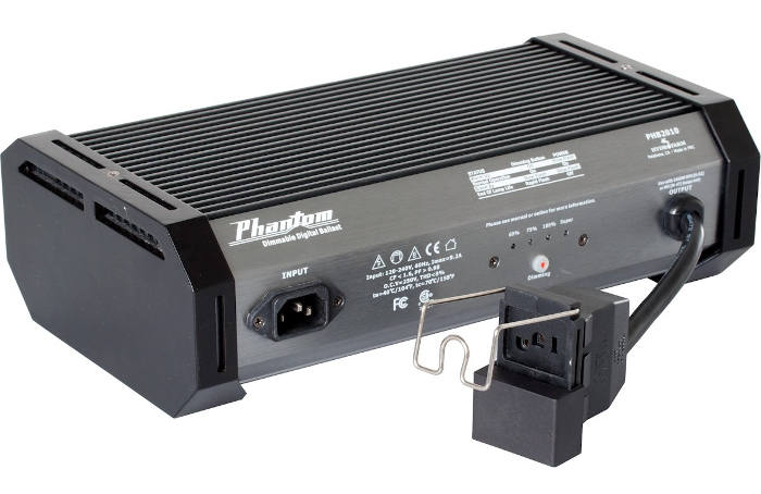 Phantom II, PHB2010 1000W Digital Ballast for MH or HPS Grow Lights