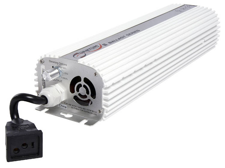 Quantum 1000W Digital Ballast, 120-240V Dimmable Ballast