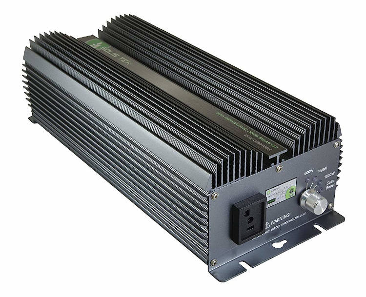 Solis Tek Exclusive 1000W LCD Digital Ballast with Built in Timer