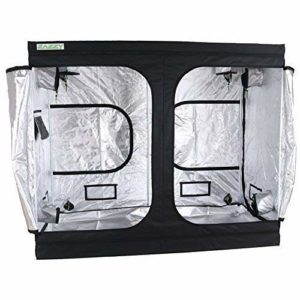 "Zazzy 96""X48 X78 Plant Growing Tents 600D Mylar Hydroponic Indoor Grow Tent for Mushrooms"