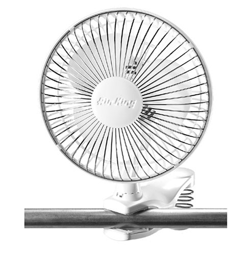 Air King 9145 Clip-on oscillating Fan for grow tent