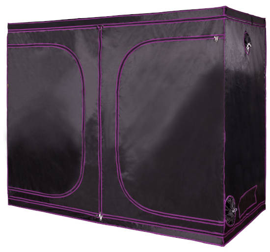 "Apollo Horticulture 96""x48""x80"" Mylar Hydroponic Grow Tent"
