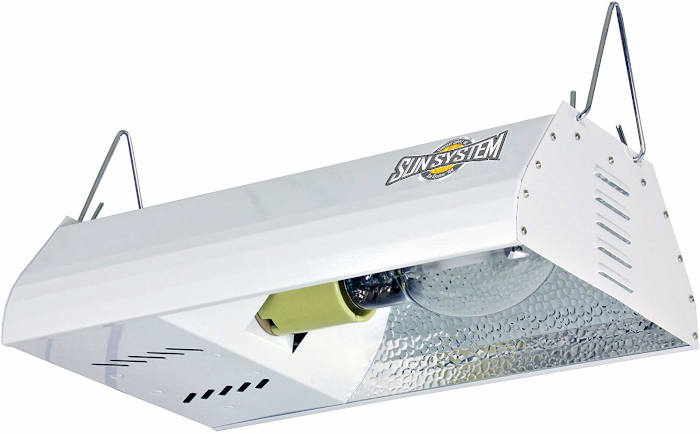 Sun System HPS 150W Fixture with Ultra Sun Lamp