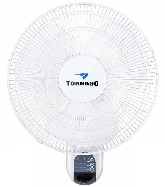 Tornado 16 Inch Digital Wall Mount oscillating Fan for grow tent