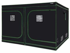 VIVOSUN 120x120x80 Mylar Hydroponic Grow Tent