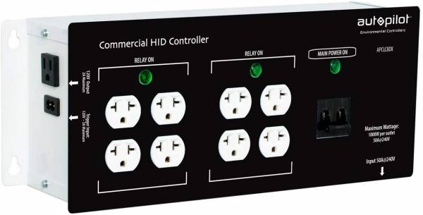 Autopilot Commercial High Power HID, 8 Light Controller White