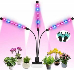 Duomishu Grow Light, 36W Full Spectrum LED Grow Lamp for Indoor Plants