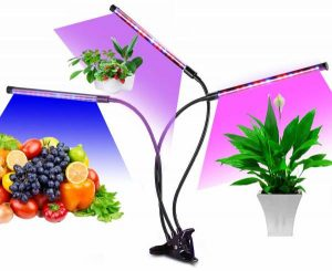 UPODA Led Grow Light for Indoor Plants, Auto ON & Off with 3 6 12H Timer Plant Grow Light