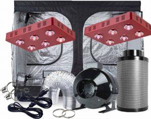 TopoGrow Grow Tent Ventilation Kit