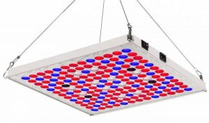 topplanet LED Grow Lights for Indoor Plants with Timer, TOPLANET 75W Full Spectrum Plant Growing Lamp with IR Bulbs