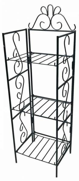 AMAGABELI GARDEN & HOME Versatile 3 Tier Standing Wire Shelf