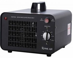 Alpine Air Commercial Ozone Generator – 10,000 mgh | Professional O3 Air Purifier, Ozonator and Ionizer