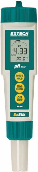 Extech PH100 ExStik pH Waterproof Meter