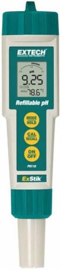 Extech PH110 Extech PH110 ExStik Waterproof pH Meter; Refillable