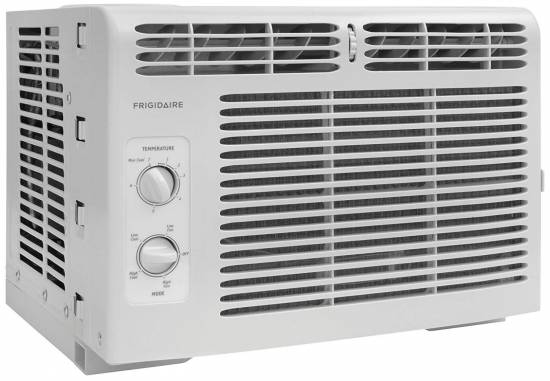 Frigidaire FFRA0511R1E 5, 000 BTU 115V Window-Mounted Mini-Compact Air Conditioner