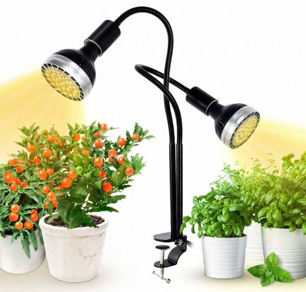Full Spectrum Grow Light, Kolem LED Grow Lamp for Indoor Plants 300W Equivalent with CREE COB