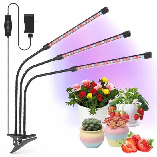Yoyomax Grow Light Plant Lights for Indoor Plants LED Lamp Bulbs Full Spectrum