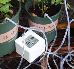 MILIMOLI DIY Micro Automatic Drip Irrigation Kit - Houseplants Watering System Kit