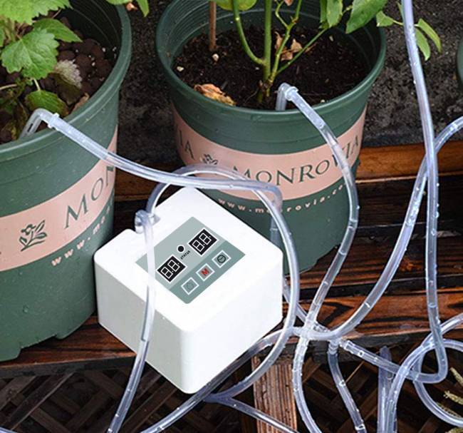 MILIMOLI DIY Micro Automatic Drip Irrigation Kit - Houseplants Watering System Kit