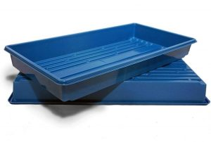 Thunder Acres Made in USA Blue 1020 Growing Tray for Garden Seeds