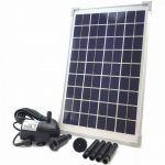 The Best 6 Solar Powered Water Pumps For Garden Reviews + FAQ