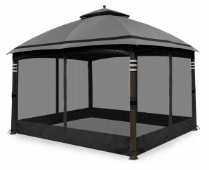 Coastshade Universal 10' x 12' Gazebo Replacement Adjustable Mosquito Netting