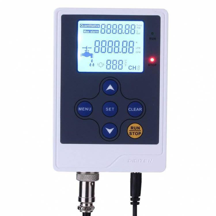 DIGITEN Water Flow Control Meter LCD Display Controller