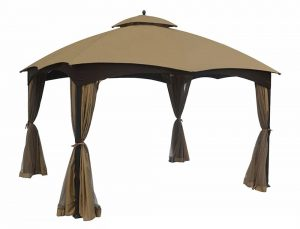Eurmax Replacement Canopy Top for Lowe's Allen Roth 10X12 Gazebo