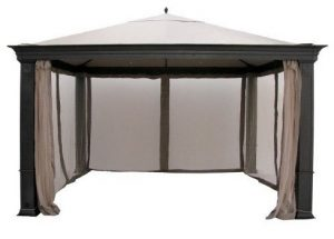 Garden Winds Tiverton (Series 3) Gazebo Replacement Canopy - Riplock 350