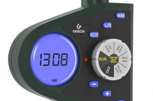 Gideon Single-Valve Hose Water Timer Sprinkler - Battery Operated